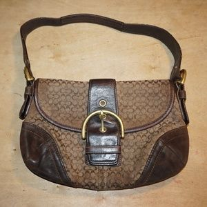 Coach Soho Flap Hobo Handbag